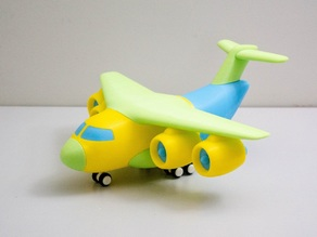 Transport Aircraft Toy Puzzle