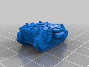 Tiny Tank Fancy MBT Infantry Support