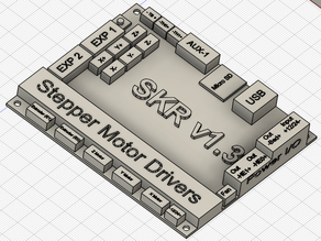 SKR v1.3 Main Board 3D Model