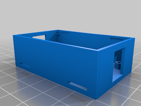 Small Buck Converter Box with clips
