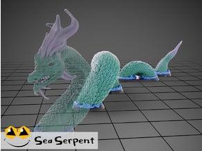 Sea Serpent - Tabletop Miniature