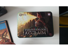 Legend of the five rings tin inserts