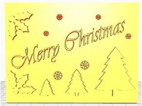 Merry Christmas 2 Lithophae