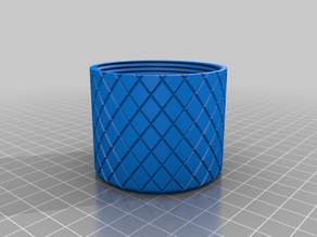 Circular container with lid