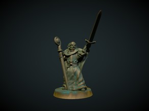 Battle Priest 28mm (No supports)