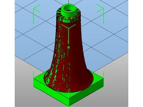 Lego Cone - 02x02 base , different Heights