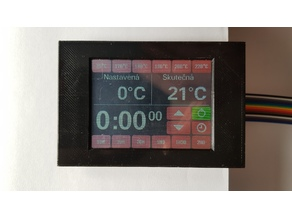 "3.2"" ILI9341 TFT Touch Screen Display Frame"