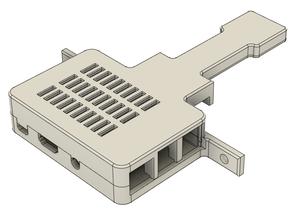 Raspberry Pi 3 B Case and Camera holder for Ender 3 Pro