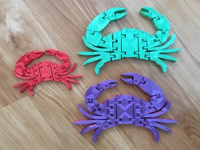 Flexi Crab (Now with Moveable Claws!)