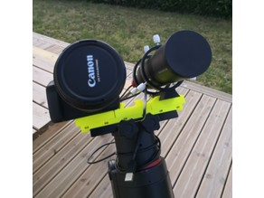 Customizable setup for wide field astrophotography