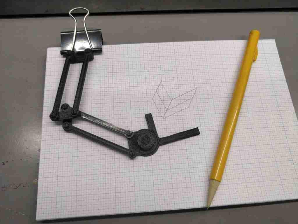 Miniature Notepad Drafting Arm