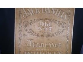 Jack Daniels wall plaque