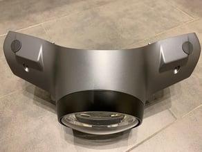 Vespa GTS300 HPE Abdeckung Spiegelloch / Cover mirror hole