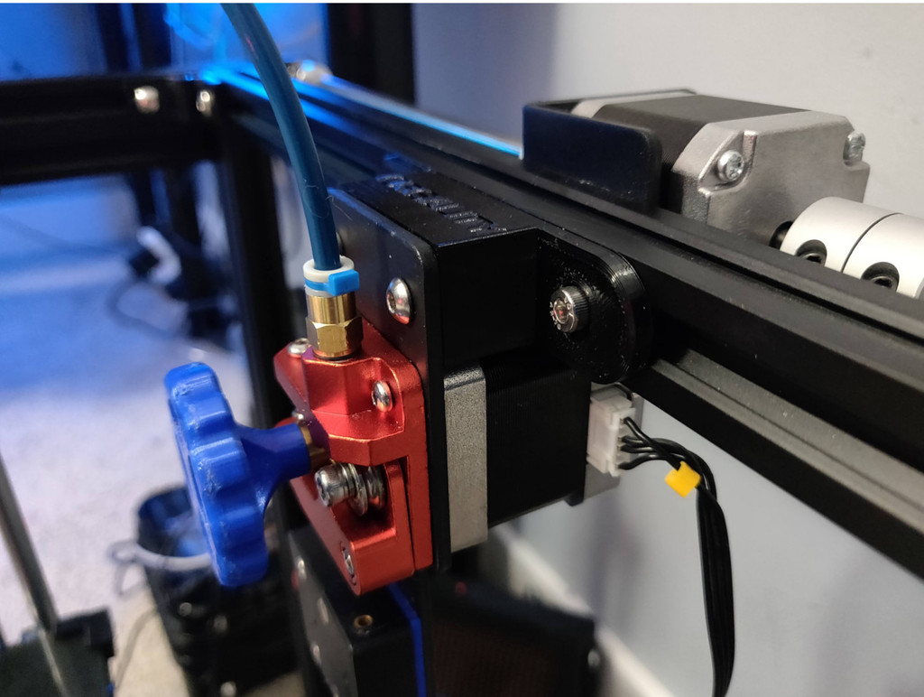 Extended Extruder Mount for Ender 5-Plus