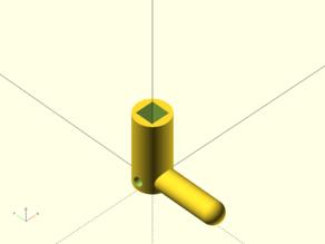 Customisable Square/Triangle key