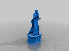 Six fingered God of Secrets statue (with optional pedestal)