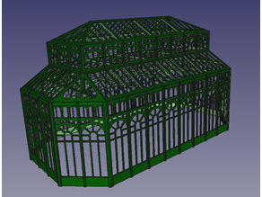 3D Greenhouse n_scale