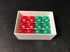 X-Wing D8 Dice Storage Holder