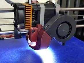Geeetech adjustable 50mm radial fan duct