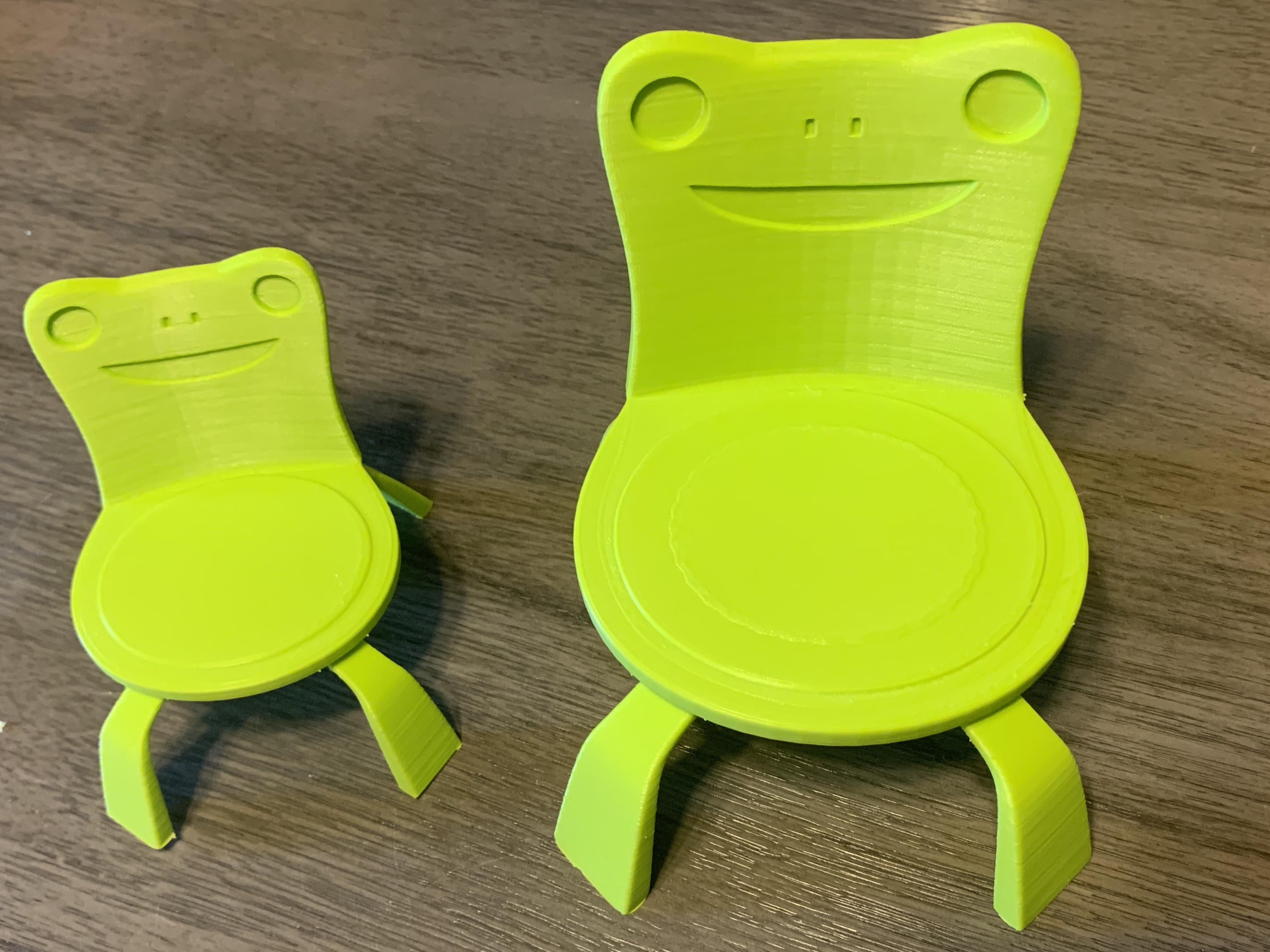 Makes Of Froggy Chair By Bobofreak Thingiverse