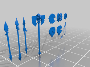 greenskin weapon assets - gubbins