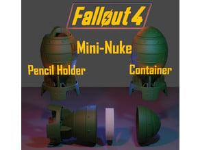 Fallout 4 Mini-Nuke Container and Pencil Holder