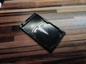 Tesla ID Card / Badge holder - multicolor