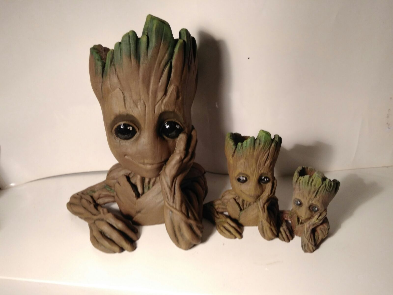 Baby Groot Pot Remix By Fanplastico Thingiverse