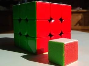 Stickerless 1x1 Rubik's Cube