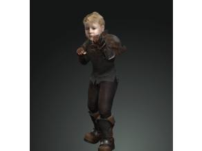 Rick, the medieval boy