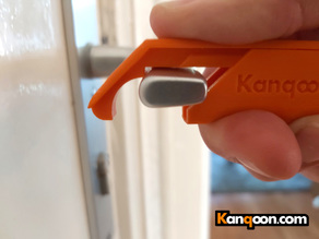 Kanqoon Ergonomic Anti Touch Corona Keychain Door Opener Tool in a Cover