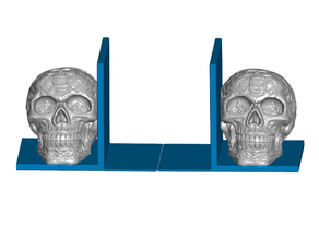 Celtic Skull Bookends (Left and Right)
