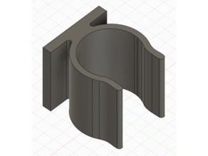 1 inch round clip (designed for 1 inch mounting squares)