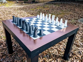 Modern Contemporary Chess Set