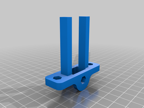Low Profile X-Belt Tensioner for Anet A8