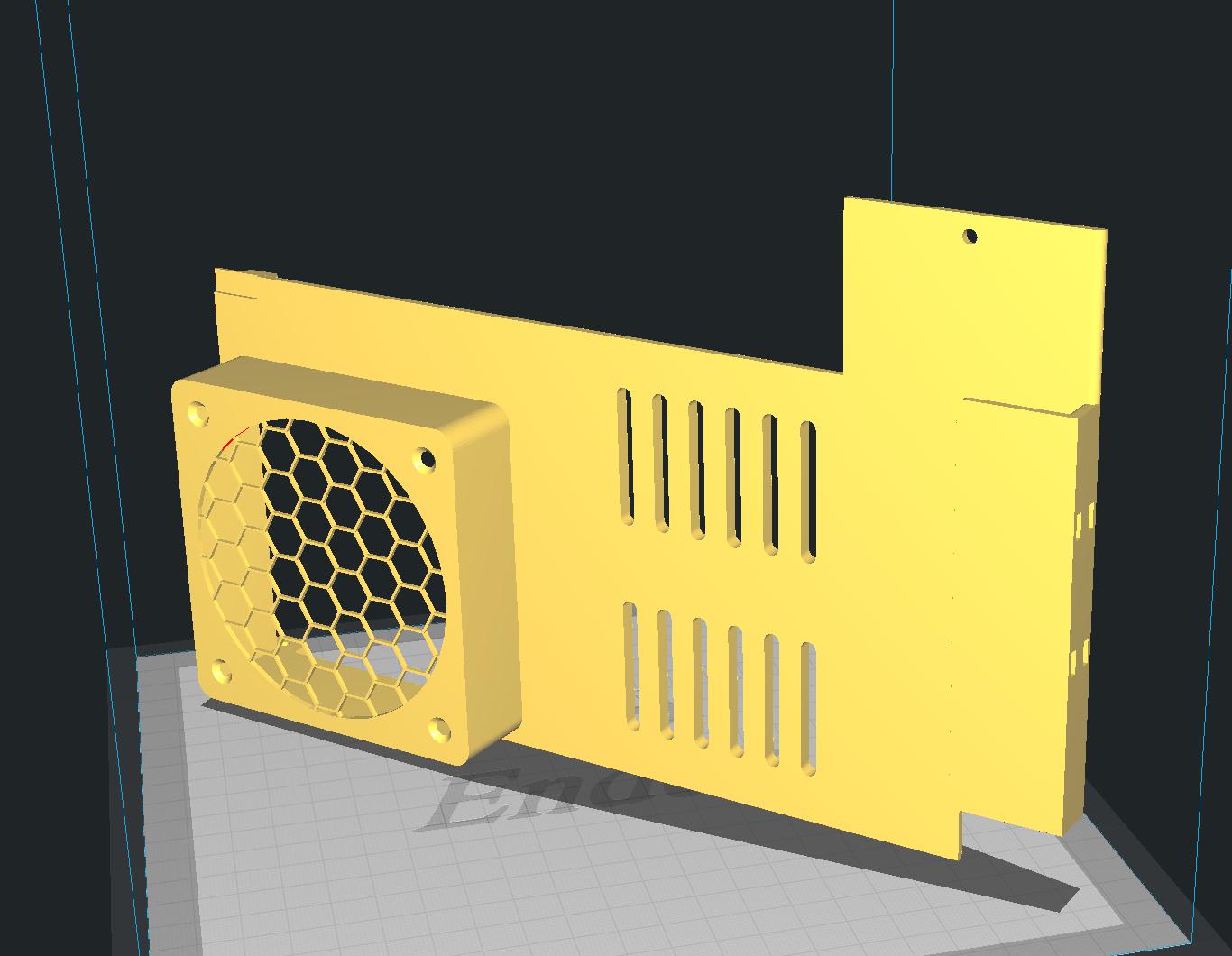 Ender 3 V2 PSU 80*25mm fan