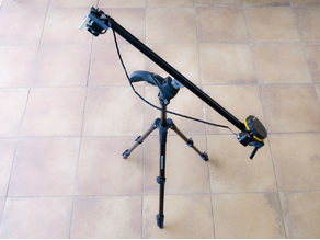 WIFI motorized Camera Slider (with Tracking)