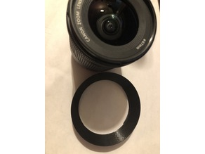 Lens hood for Canon EF-S 10-18mm