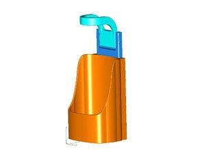 Equate 34oz or Target 32oz Hand Sanitizer holder - Anti-theft Wall Mount Remix