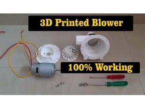 DIY 3D Printed Blower