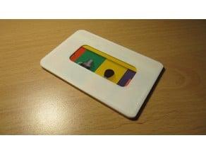 Credit or transport card protection holder v 2