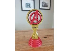 Marvel Avengers Headphones Stand or Trophy