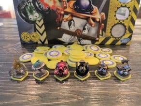 Robo rally - tokens and bases