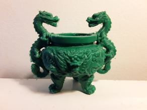 Incense Dragon Bowl