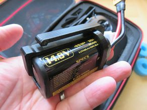 ZOHD 4S LI-Ion Battery Pack Belt Clip (DJI FPV HD Goggles)