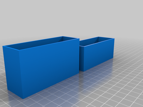 My Customized Divided Parametric Box and Lid (Metal Stamps, etc)