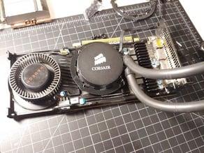 Asetek Liquid Cooling Pump Bracket for Radeon GPUs