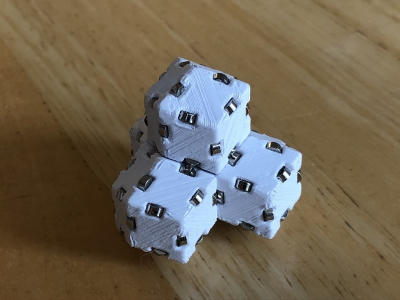 Magnetic Rhombic Dodecahedron Blocks