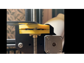 Anti Z-wobble with magnets for Ender 3 / 3 Pro / 3 V2 - Direct Drive