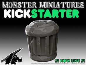 Garbage Can - KICKSTARTER is LIVE!